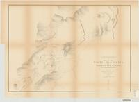 Map of the White Mountain or Mammoth Hot Springs on Gardiners River, Yellowstone National Park