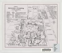 Campus, University of Wyoming, Laramie, Wyoming, 1954