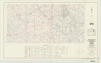 General highway map, Campbell County, Wyoming
