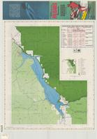 Recreation map, Palisades Reservoir, Caribou, Targhee, Bridger National Forests