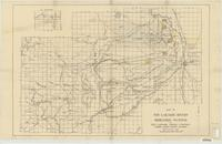 Map of the Laramie Rivers irrigation system of the Laramie Water Company.