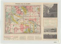 Resource map of Wyoming