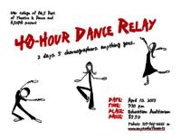 48-Hour Dance Relay [Poster]