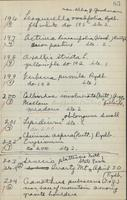 [Page of] Nelson/Hopkins Collection 1939-1945 Records 3208-5255, 101-1130