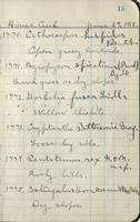 [Page of] Aven Nelson and McBride 1912 Records 1703-2247