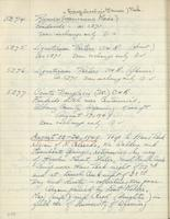 [Page of] C. L. Porter 1949 Records 4855-5282