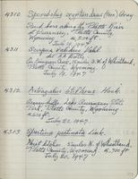 [Page of] C. L. Porter 1945-1947 Records 3629-4423