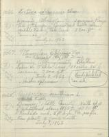 [Page of] C. L. Porter 1962 Records 8871-9222