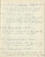 [Page of] C. L. Porter 1959 Records 7733-8067