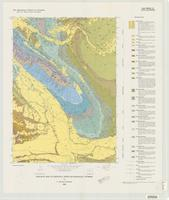 Geologic map of Greybull North quadrangle, Wyoming