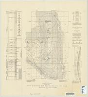 Geologic map and sections of the Oregon Basin anticline, Park County, Wyoming