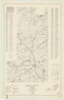 Albany County, Wyoming : county, state, federal highway map with rural dwelling locations