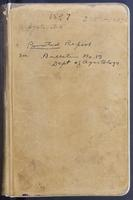 Aven Nelson collecting field book 1897 : records nos. 3752-4481 (systematic arrangement)