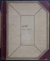 Aven Nelson collecting field book 1898 : records nos. 4297-5398