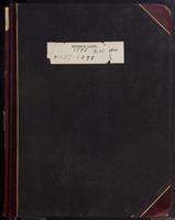 Aven Nelson collecting field book 1898 : records nos. 4297-5398 (systematic arrangement)