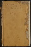 Leslie Newton Goodding collecting field book 1901 : records nos. 1-607