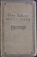 Aven Nelson collecting field book 1898 : records nos. 4297-5379