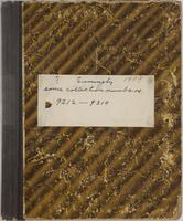 Aven Nelson collecting field book 1909 : record nos. 9212 to 9310.