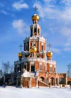 Moscow Cathedrals - Pokrov Church of the Mother of God in Filli