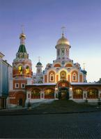 Moscow Cathedrals - Cathedral of the Mother of God's Kazan Icon - Red Square