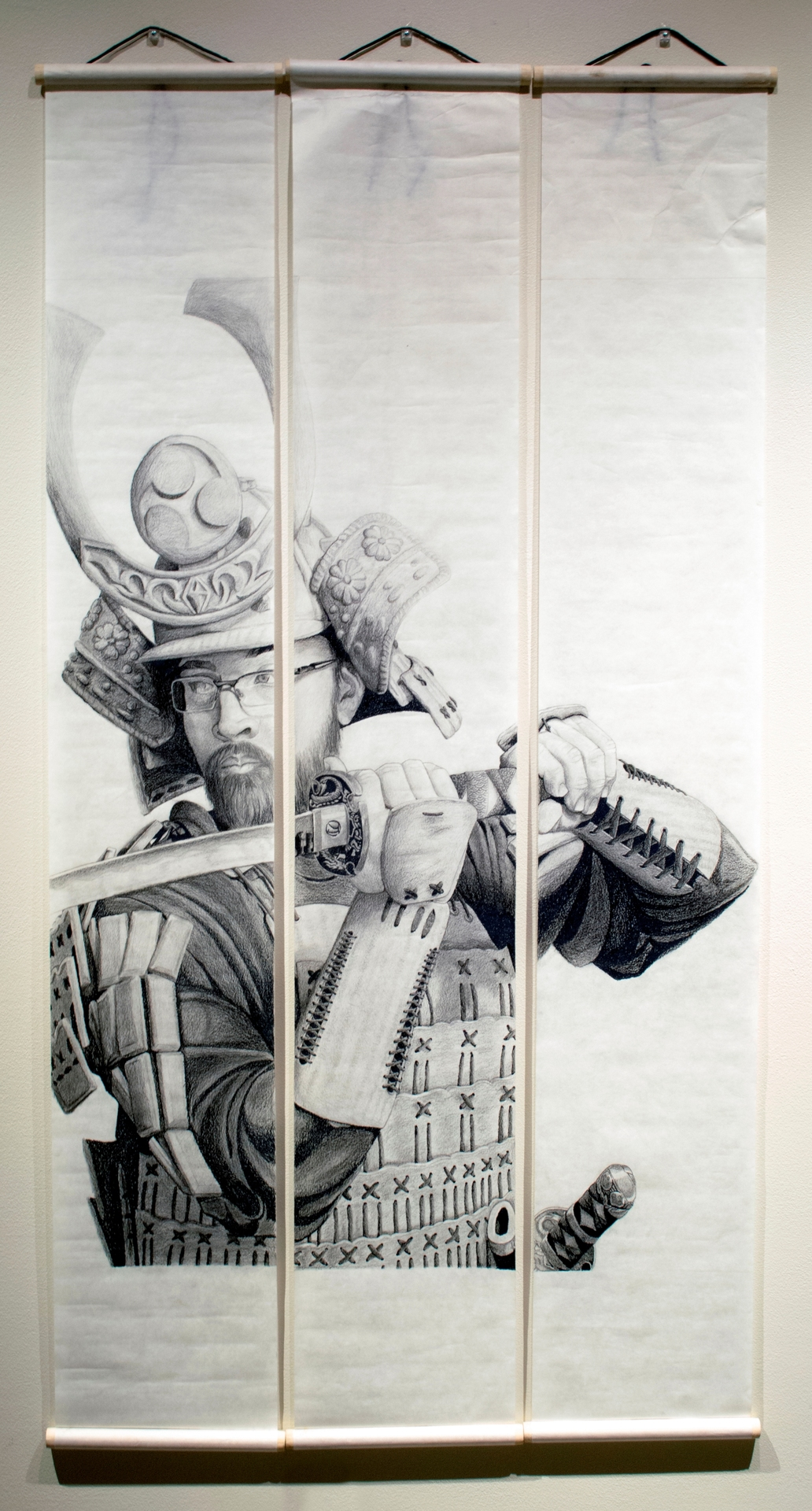 Self Portrait in Samurai Armor