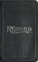 J. Francis Macbride collecting field book 1911 : record nos. 751 to 1702.