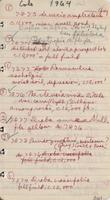 [Page of] Ruth Ashton Nelson collecting field book 1962-1965 : record nos. 7450 to 8024.