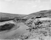 Sawmill on Green River, Wyoming