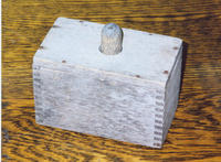 Wooden butter mold