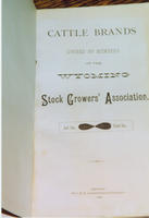 Cattle Brands title page