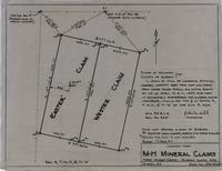 Location-Map M-H Mineral Claims Near Horse-Creek, Albany County, Wyo