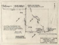 Section-Lines near Bosler, Wyo. Surveyed for John V. Hill
