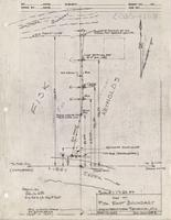 Map of Fisk East Boundary Cabin-Tract near Centennial, Wyo