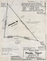 Property Survey Parker Tract Addendum III From Wilson Lands Near Centennial, Wyoming