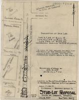 C.C. Cochran-Bestwall Gypsum Co. Stub-Lot Proposal South of Laramie, Wyoming