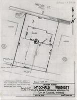 Location Survey McDonald Property Lot 11, Block 2, Coughlin Addition to City of Laramie, Wyoming