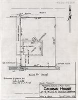Property-Survey and Plot-Plan Cochran House Lot 13, Block 5, Coughlin Addition