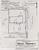 Location-Survey Reed Property Lot 1, Block 4, Coughlin Addition City of Laramie, Wyoming