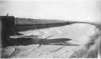 Section of Eroded Ft. Laramie Canal Before Dragline Operation