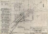 "Property- and Subdivision Layout Dadisman ""Y"" Addition Southwest Blocks West Laramie, Wyoming Albany County"