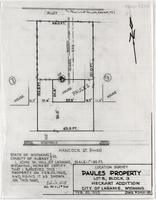 Location Survey Paules Property Lot 8, Block 3, Heckart Addition City of Laramie, Wyoming