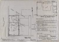 Lot-Survey Downey Property The West 66 Ft of Lot 8 and the West 66 Feet of Lot 7, block 183, Original town of Laramie, Wyoming