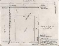 Property map Hilston Tract West 55 Ft of Lot 4 Block 179 Laramie, Wyo