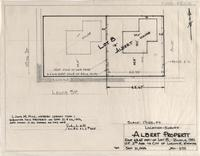 Location-Survey Albert Property East 63.67 Feet of Lot 8, Block 130 U.P. 2nd Add. to city of Laramie, Wyoming