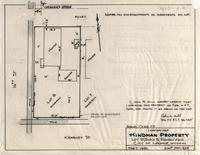 Location-Map Hindman Property Lot 8, Block 5, Rainbow Add. City of Laramie, Wyoming