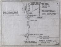 Map Showing Robbins Nursery Land Laramie, WYO.