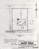 Location Survey Svalstedt Property Lot 15, Block 5, Wyoming 3rd Add. City of Laramie, Wyoming