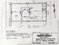 Location Survey Stratton Property Lot 7, Block 7, Union Pacific 4th Addition City of Laramie, Wyoming
