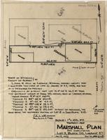 Property-Map Marshall Plan For Subdividing Lot 3, Block 210, Laramie O.T.