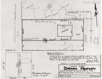 Location Survey Burman Property North 44 Feet of Lot 3, Block 130 U.P. Second Add to City of Laramie, Wyoming